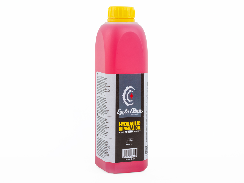 AUTHOR Minerální olej Cycle Clinic Hydraulic Mineral Oil  1 l